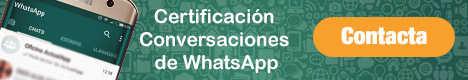certificacion conversaciones whatsapp