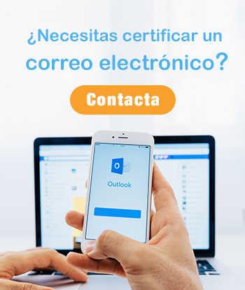 certificar correos electronico perito informatico