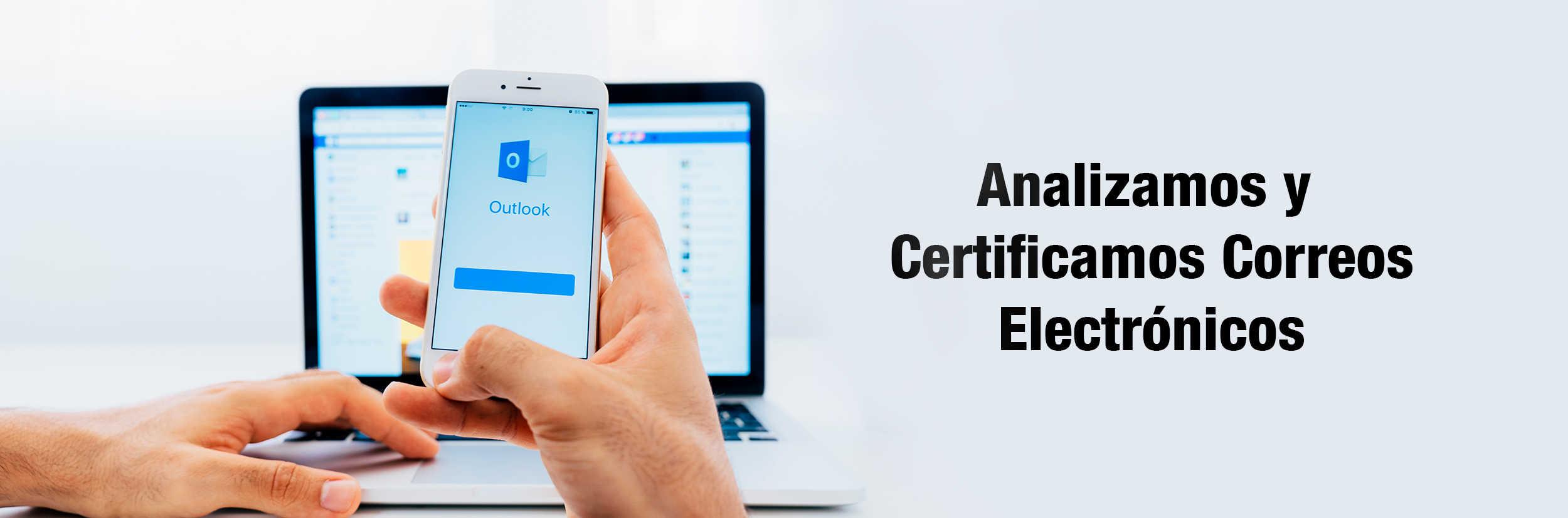 certificacion correos electronicos peritos informaticos