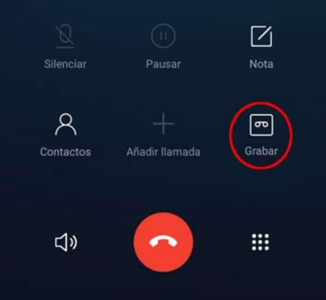 grabar llamadas perito informatico